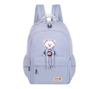 Молодежный рюкзак S126 голубой