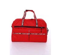 Дорожная сумка и косметичка №81, красный