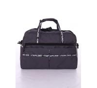 Дорожная сумка и косметичка №81, серый