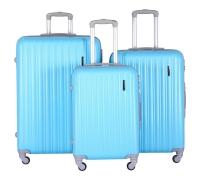 Комплект Чемоданов СЧП-2060 светло-голубой