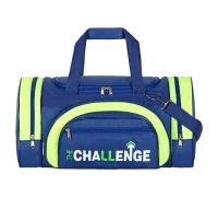 Спортивная сумка №18, синий, ткань 420