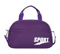 """Спортивная сумка №14 """"Спорт"""" фиолетовый"""