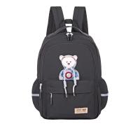Молодежный рюкзак MERLIN S126 черный